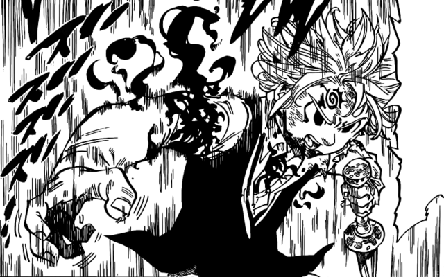 File:Meliodas using demonic power to re-attach his hand.png