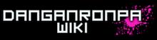 Danganronpa Wiki-wordmark