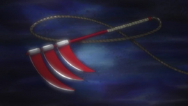 Triple-Bladed Scythe