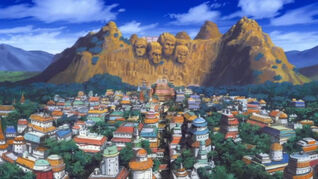 Konohagakure - Hidden Leaf Village