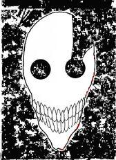 Ichigo hollow mask colored by GEKKO117