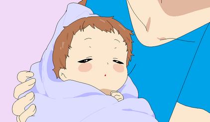 Risa holding baby Zyra