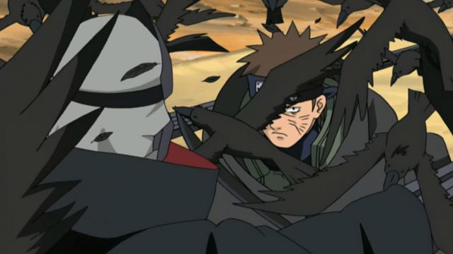 File:Raidō attacking Kakuzu.PNG