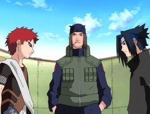 Gaara vs Sasuke