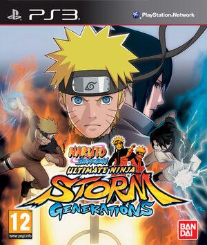Naruto Shippudden UNSG box PS3