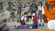 Sakura healing Hinata