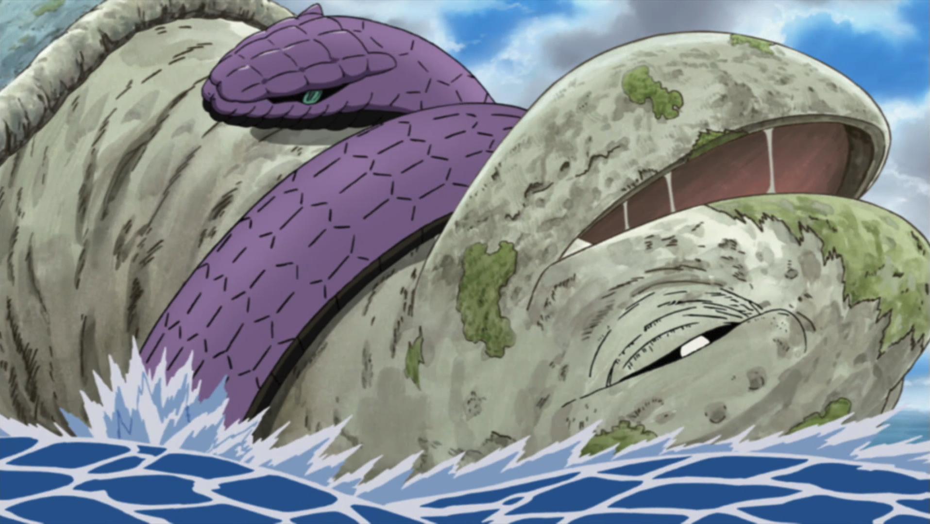Image - Nidaime Manda constrict.png | Narutopedia | FANDOM ...