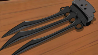 Chakra Enhanced Triple-Bladed Claw