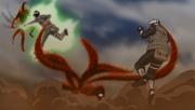 Utakata vs Kakashi