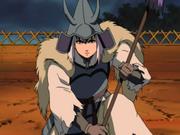 Toki in armour