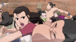 Mom's fighting