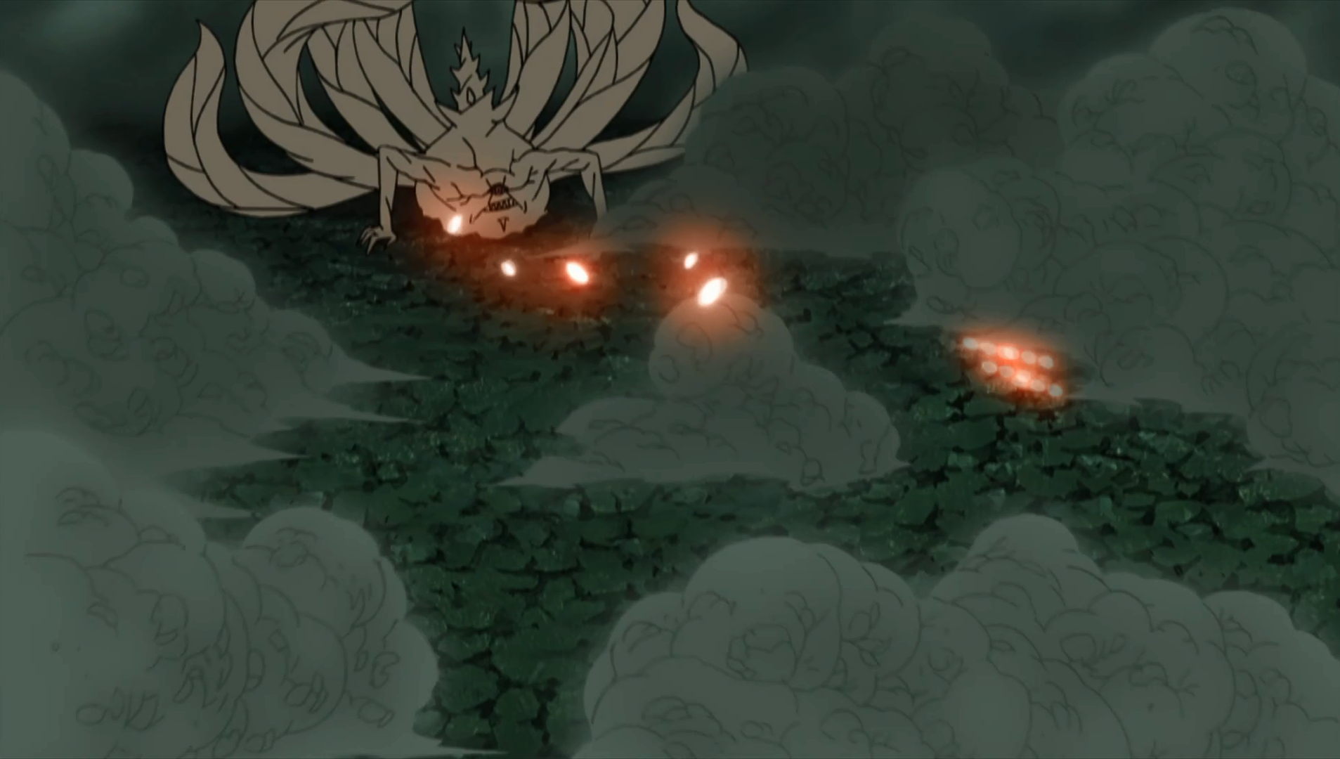 continuous tailed beast balls