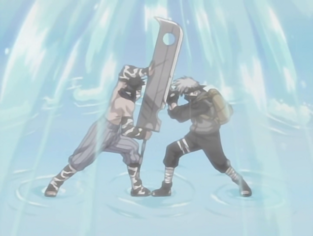 File:Kakashi And Zabuza Battling.PNG