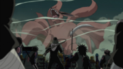 Group Hiruzen vs Kurama