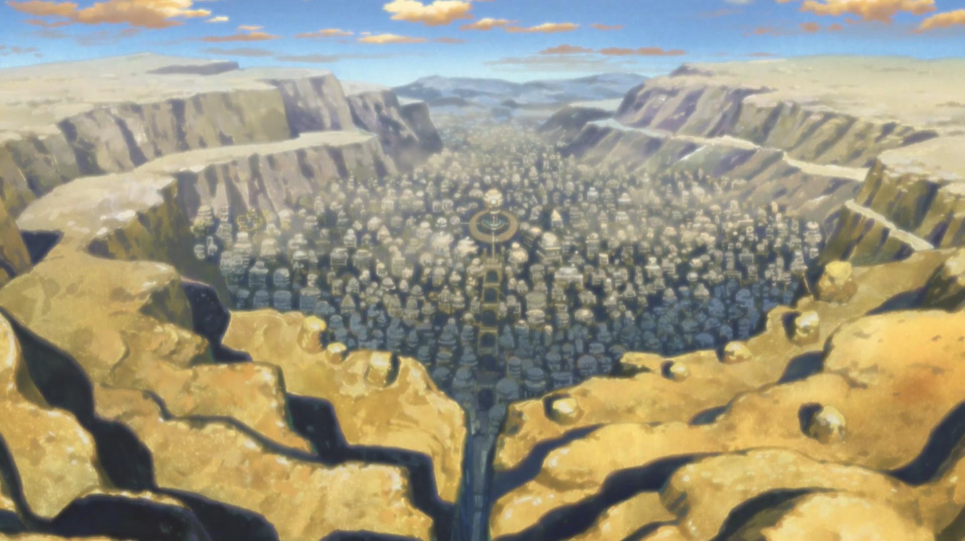 Konoha Village Map Minecraft - 0425