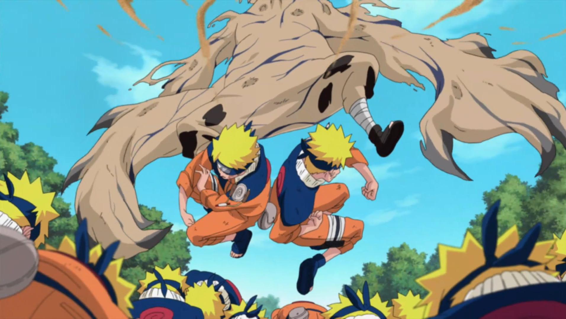 Naruto uzumaki two thousand combo narutopedia fandom for Cuarto kazekage vs orochimaru