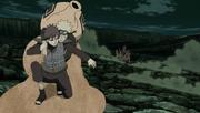 Gaara saves Naruto