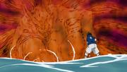 Kurama empowers Naruto