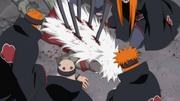 Jiraiya killed by Pain