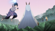 Sasuke Attacks Kaguya