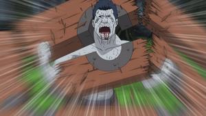 Kisame breaks free