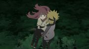 Minato saves Kushina