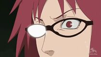 Sasuke falling into darkness