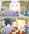 Ultimate Ninja Storm 4 - Sakura blushes - Team 7