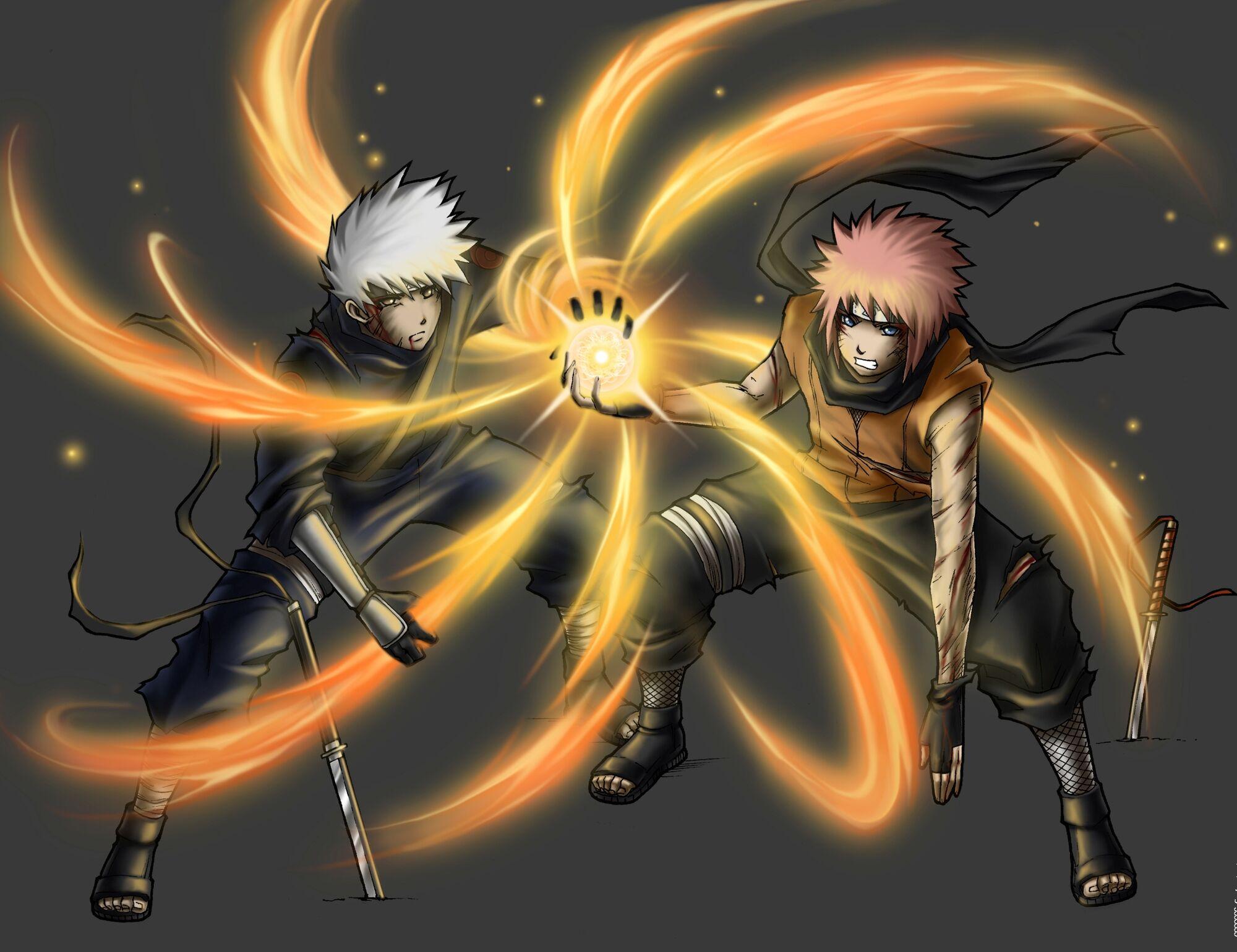 Image - Hatake Kira & Uzumaki Arashi.jpg   Naruto Fanon ...