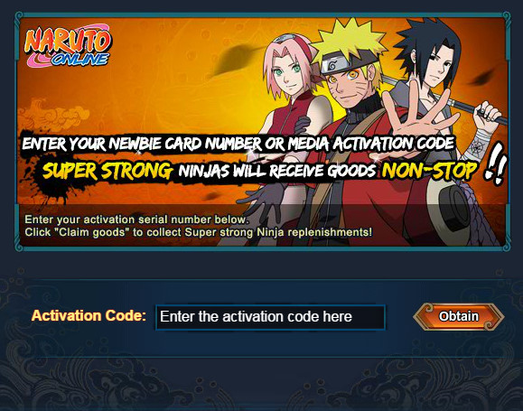 Code coupons naruto online