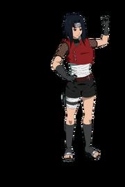 Naruto OC Kira Ryuzaki By KirAlien
