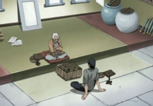 Asuma and Hiruzen