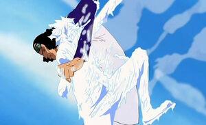 Ao Kiji vs Luffy