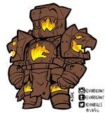 Destiny rise of iron titan wolf armor by kevinraganit-dae6qgo