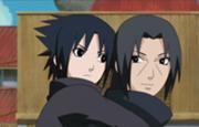 File:180px-Itachi and Sasuke young.png