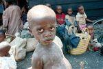 Lovia - Rwandan refugee boy in Goma