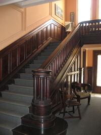 Lovia - Woodstock Inn staircase