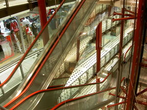Station Mall Escalators