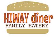 1970s Hiway diner logo