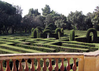 Lovia - Palati Daidalo - Maze garden