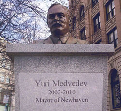 Yuri Medvedev Bust