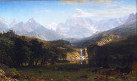The Rocky Mountains' Lander's Peak