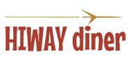 1950s Hiway diner logo