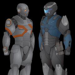Atlas Stealth Armour