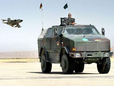 Dingo 2 wheeled armoured vehicle personnel carrier Germany German army Afghanistan 008