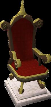 Gilded throne2