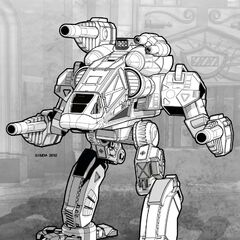The Yeti, a second-generation heavy mech.