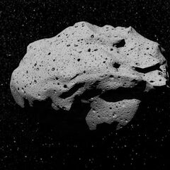 One of New Alaska's unnamed asteroid moons.