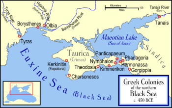 Ancient Greek Colonies of N Black Sea