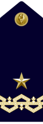 Questore di Prima Classe PS - Ispettore Superiore PS - Generale di Brigata CPR
